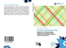 Portada del libro de Vladimir Dzhunkovsky