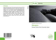 Portada del libro de Wergaia