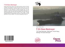Bookcover of T 53 Class Destroyer