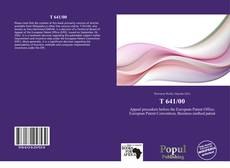Bookcover of T 641/00
