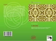 T 931/95 kitap kapağı