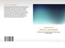 Capa do livro de Peter G. Van Winkle