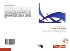 Peter Gardiner的封面