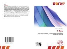 Capa do livro de T Zero