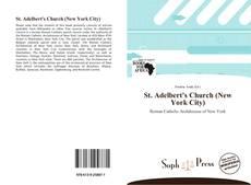 St. Adelbert's Church (New York City) kitap kapağı