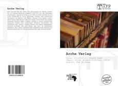 Bookcover of Arche Verlag