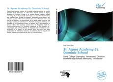 Bookcover of St. Agnes Academy-St. Dominic School