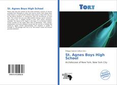 Bookcover of St. Agnes Boys High School