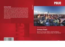 Bookcover of Urmas Paet