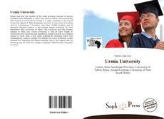 Bookcover of Urmia University