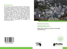 Buchcover von Archenbrunn