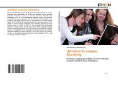 Обложка Urmston Grammar Academy