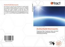 Capa do livro de Archenhold-Sternwarte