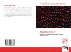 Bookcover of Reciprocity Law