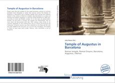 Temple of Augustus in Barcelona kitap kapağı