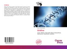 Bookcover of Uridine