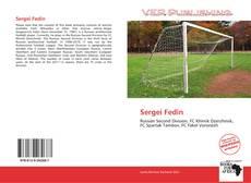 Couverture de Sergei Fedin