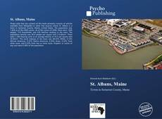 St. Albans, Maine kitap kapağı