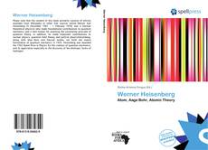Bookcover of Werner Heisenberg