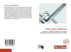 Peter Green (Referee) kitap kapağı
