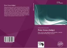 Bookcover of Peter Gross (Judge)