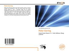 Bookcover of Peter Goring