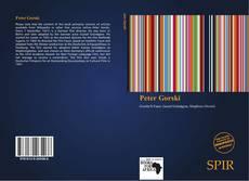 Buchcover von Peter Gorski