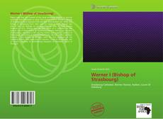 Capa do livro de Werner I (Bishop of Strasbourg)