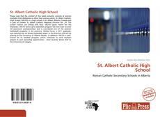 Capa do livro de St. Albert Catholic High School