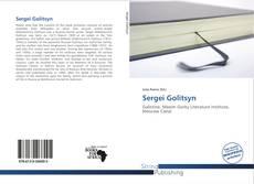 Portada del libro de Sergei Golitsyn