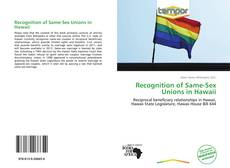 Recognition of Same-Sex Unions in Hawaii kitap kapağı