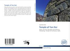 Bookcover of Temple of Yan Hui