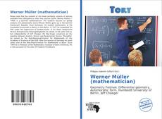 Bookcover of Werner Müller (mathematician)