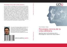 Copertina di Psicología ciencia de la vida cotidiana