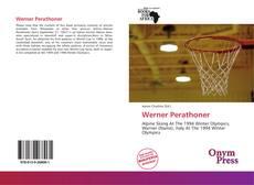 Portada del libro de Werner Perathoner
