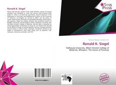 Bookcover of Ronald K. Siegel