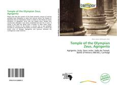 Buchcover von Temple of the Olympian Zeus, Agrigento