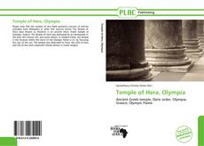 Bookcover of Temple of Hera, Olympia