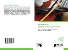 Capa do livro de Sergei Krylov (Violinist)