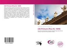 Bookcover of Ubi Primum (Pius IX, 1849)