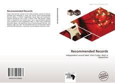 Recommended Records kitap kapağı