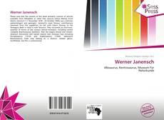 Borítókép a  Werner Janensch - hoz