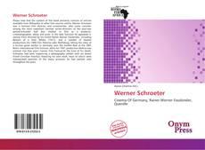 Portada del libro de Werner Schroeter