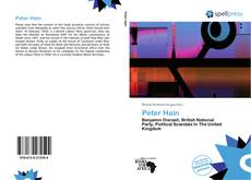 Couverture de Peter Hain