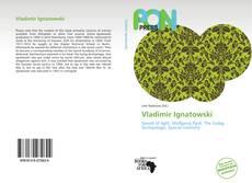 Buchcover von Vladimir Ignatowski