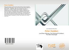 Bookcover of Peter Haddon
