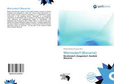 Portada del libro de Wernsdorf (Bavaria)