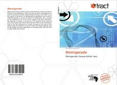 Capa do livro de Wernigerode