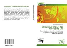 Bookcover of Ubiquitous Knowledge Processing Lab