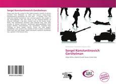 Sergei Konstantinovich Gershelman kitap kapağı